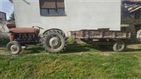 Traktor IMT 533 so prikolica