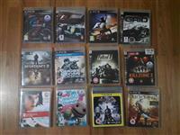 PS3 konzoli, originalni igri i drugi dodatoci