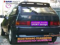 ODLICEN SUZUKI SWIFT/REGISTRIRAN CELA GODINA/ZAMEN