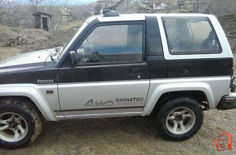 pazar3 mk ad daihatsu feroza 4x4 for sale negotino vehicles rh pazar3 mk Daihatsu Fourtrak Daihatsu Fourtrak