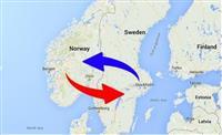 RABOTA ZA TRIOSOVINSKI KAMIONI SVEDSKA-NORVESKA