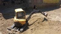 Gradezna mehanizacija kamion bager