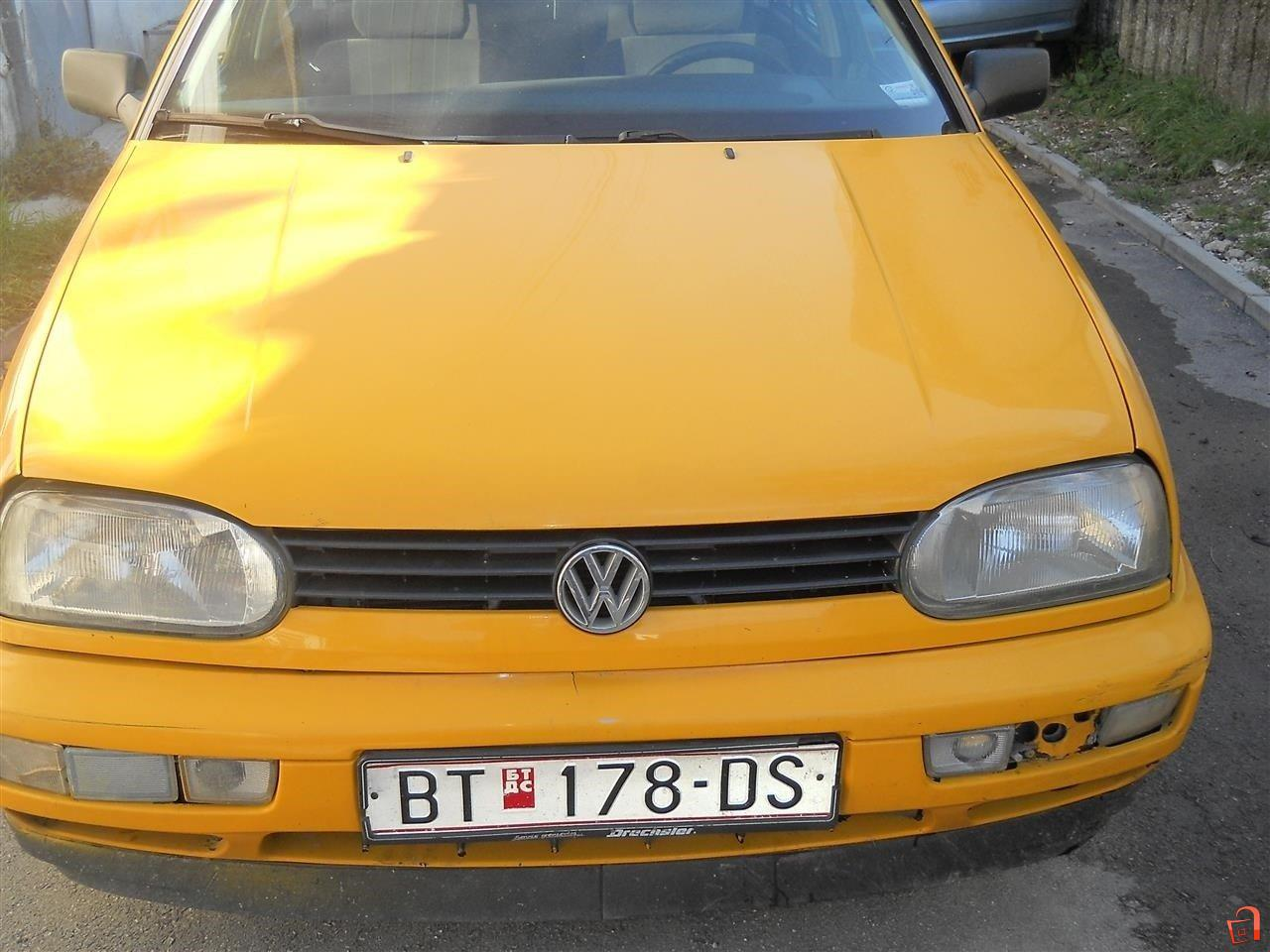 ad vw golf 3 1 9 tdi 97 for sale bitola bitola vehicles automobiles vw. Black Bedroom Furniture Sets. Home Design Ideas