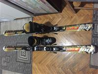 Nordika ski 2013 i Salomon ski cevli