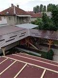 Izrabotka na krovovi hali letnikovci