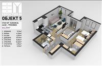 Luksuzni stanovi vo izgradba Evrostil M Strumica