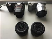 Mirrorless fotoaparat Sony NEX 5N so objektiv