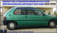 PEUGEOT 106 1.0 -95 NOVI GUMI REG DO 22.11.16