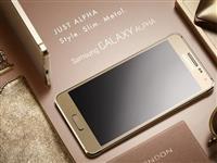 Nov  Samsung Galaxy Alpha - GOLD