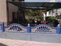 Betonska i zelezna ograda