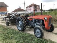 Traktor imt 539 89g so prikolka plug i drjlaci
