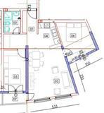 Nov stan Kisela Voda 64.9m2 trosoben