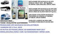 MAPI2017 ZA GARMIN,IGO NAVIGACIA NA TELEFON,TABLET