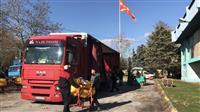 Kamion MAN 18.480 FTN so poluprikolka Schmitz