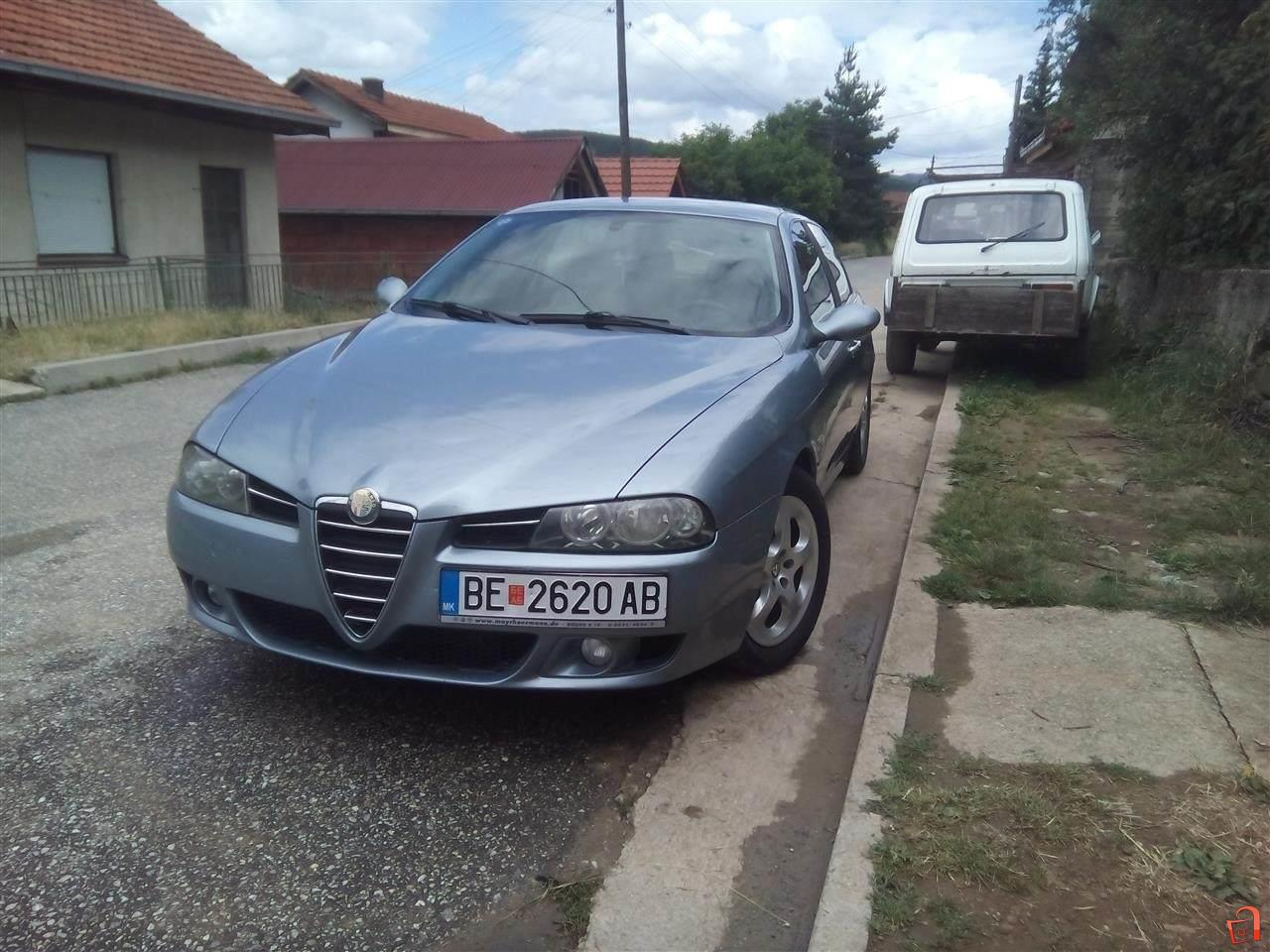 ad alfa romeo 156 1 9 jtd 16v 140 ks facelift for sale berovo vehicles. Black Bedroom Furniture Sets. Home Design Ideas