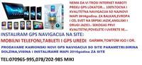 INSTALIRAM GPS NAVIGACIJA NA MOBILEN TABLET GARMIN
