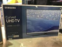 "Samsung  65"" CURVED LED Smart 4K Ultra HD TV"