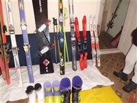 Skii skijacki celi steki snowbord