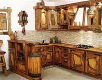 Rustik enterijer kuhinje