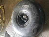 Plinska poca skoro nova 40L okrugla za vo rezervna