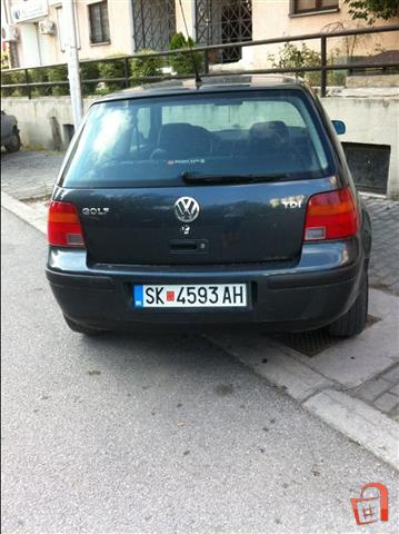 ad vw golf 4 1 9 tdi 110 full 99 for sale skopje kisela voda vehicles. Black Bedroom Furniture Sets. Home Design Ideas