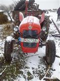 Traktor IMT 539 prikolka i drljaca