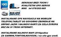 SERVIS NA TELEFONI TABLETI GPS NAVIGACIJI MAPI2016