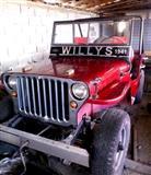 OLDTIMERS Jeep Wilys -41