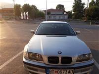 BMW 320 D + zelen karton