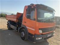 Kamion Mercedes-Benz 12.24 kiper so kran