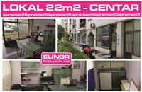Atraktiven Lokal od 22 m2 vo Centar na Tetovo
