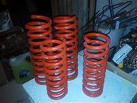 Federi spirali Crveni
