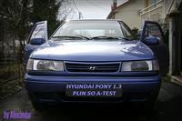 HYUNDAI PONY 1.3 REG.PLIN A-TEST -95