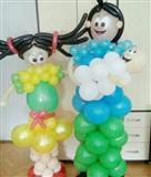 Figuri od baloni i baloni so helium