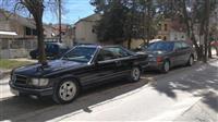MERCEDES 500 SEC C 126 COUPE V8