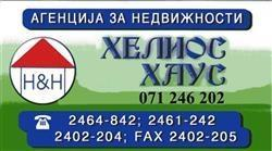 """Агенција за недвижности  """"ХЕЛИОС ХАУС"""""""