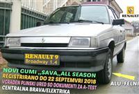 RENAULT 9 1.4 NOVI GUMI PLIN REGISTRIRANO