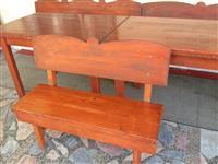 Masi i stolici za ugostitelstvo