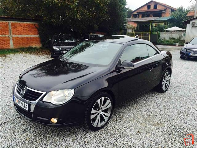 ad vw eos 2 0 tdi cabrio 07 for sale skopje gjorce petrov vehicles automobiles. Black Bedroom Furniture Sets. Home Design Ideas