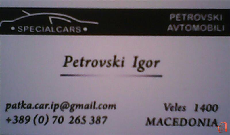 Petrovski AVTOMOBILI