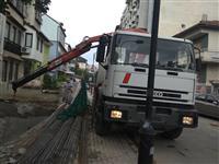 Transport niz cela Makedonja so grajfer od 5tona