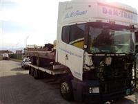 Scania R124 440 plus prikolka tandem Krone