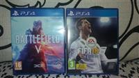 Battlefield V i FIFA 18 za PS4