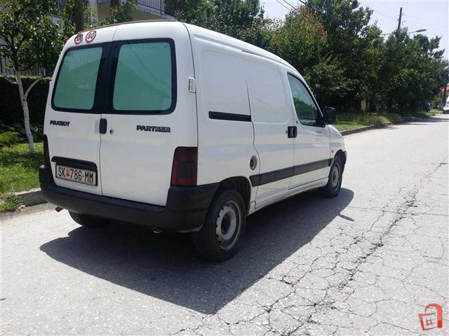 Ad Peugeot Partner 1 9 D 02 Pick Up For Sale Skopje border=
