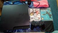 Playstation 3 black slim 149gb  mnogu zacuvan