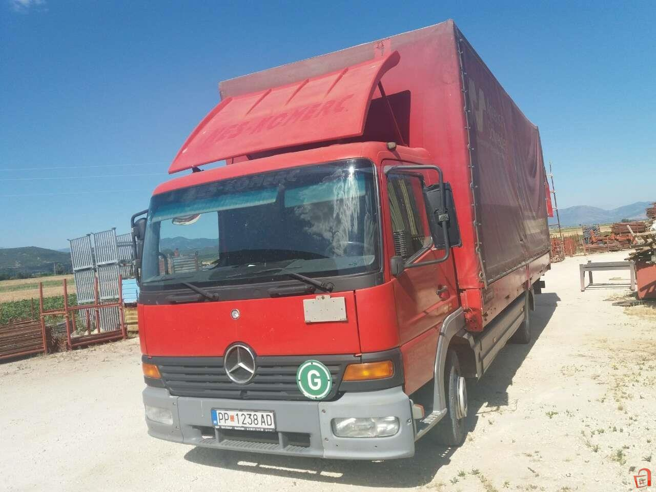 Pazar3.mk - Ad Mercedes ATEGO 815 For sale, Prilep, Dolneni, VEHICLES,  Heavy Duty Vehicles, Vans and Lifting Machinery, Trucks and Trailers,  Mercedes-Benz, ...