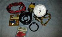 Instalacija za kontrola na pritisok na ulje