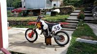 Honda cr 125 ful kros