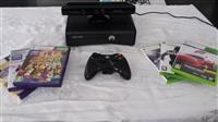 XBOX 360 250GB + Kinect i 6 originalni igri