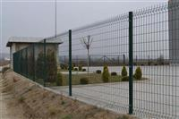 Ograda galvanizirana so elektrostaticna boja